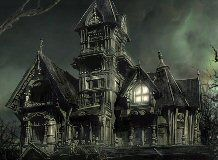 Click to BUY Horror in the Haunted House Murder Mystery Game